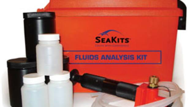 The keys to the city—a fluids analysis kit.