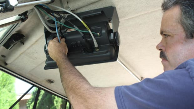 When any piece of marine electronics stops working or you lose functions, check first to make sure no connections have shaken loose.