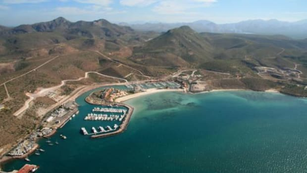 The Marina Costa Baja, near La Paz.