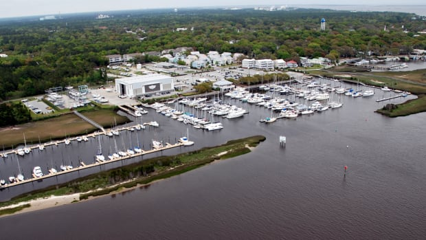 The newest Zimmerman boatyard is in Southport, North Carolina.