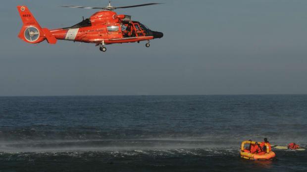 USCG life raft