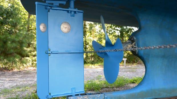 Articulated Rudder on a Trawler