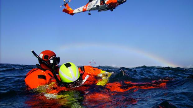 USCG Rescue Swimmer