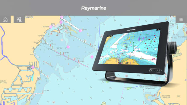 RayMarine Sponsored header