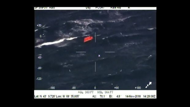 USCG Rescues the Crew of the Aaron & Melissa II
