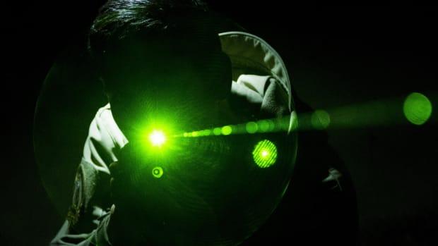 Laser villain