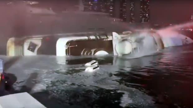 Andiamo capsized