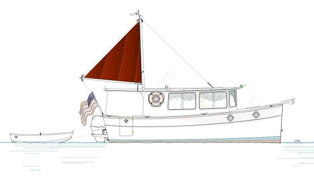 MW22 #1 present sail