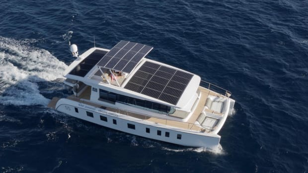 silent yachts solar powered catamarans