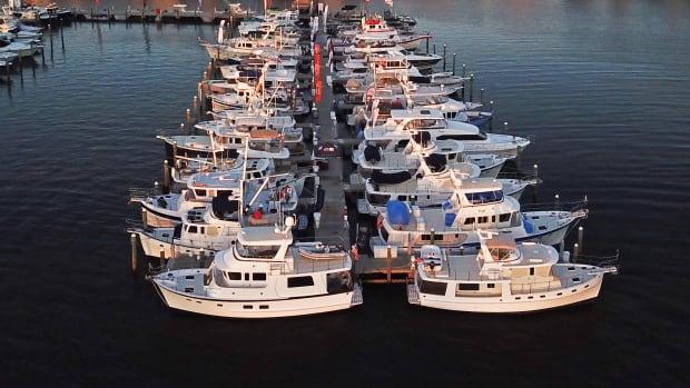 web TF docks trawler dock boat show trawlerfest stusrt