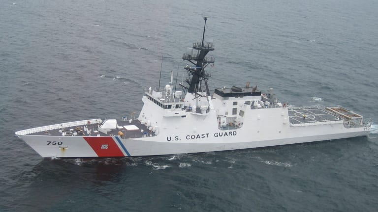 How The Coast Guard Earned Its Orange And Blue Stripes
