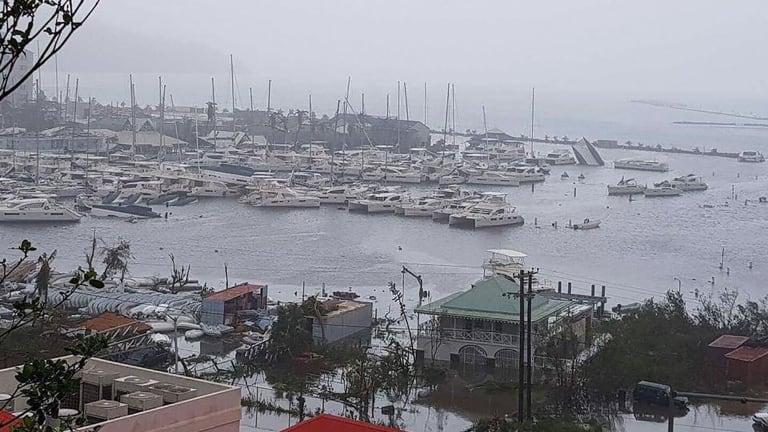 Social Media Shows Irma's Wrath