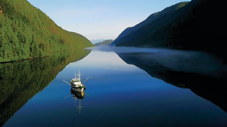 MV Explorer in Haida Gwaii (Video)