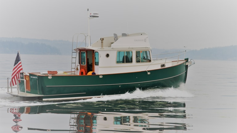 Six Slots Left for 'Boat Handling' at TrawlerFest in Bremerton