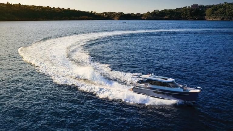 Burger Boat Company's New 48' Cruiser