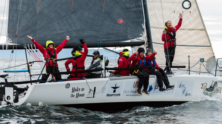 "Team ""Sail Like A Girl"" Wins Race to Alaska"