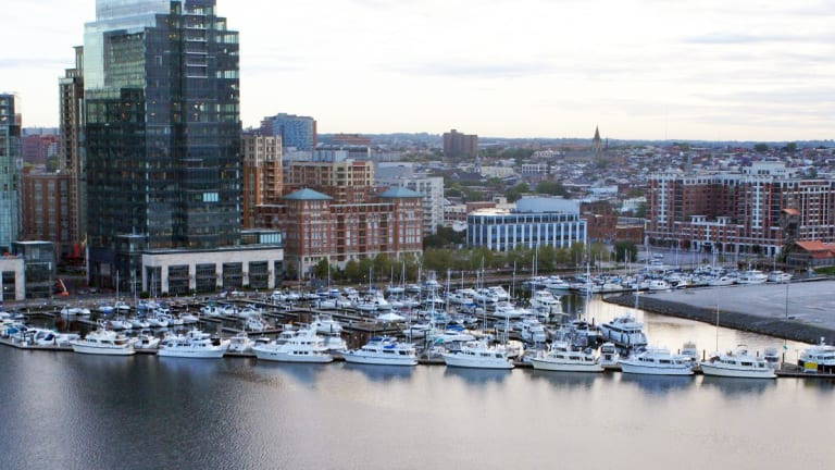 Baltimore's Harbor East Marina Refit Is Complete