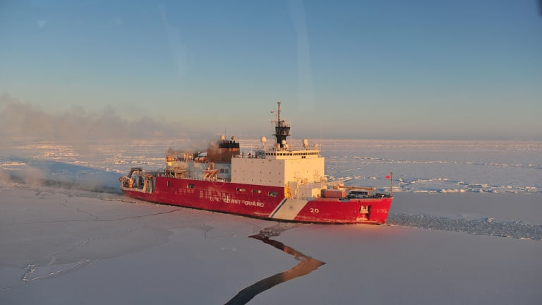 USCG Cutter Healy Deploys for the Arctic