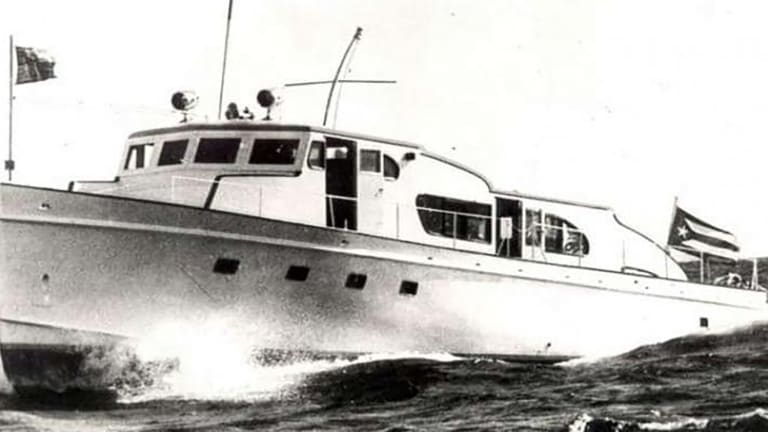 Aboard Granma