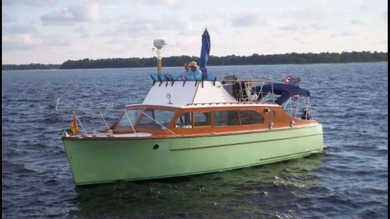 For Sale: 1948 Monk-designed Grandy 34 Sedan Cruiser Seeks New, Loving Owner