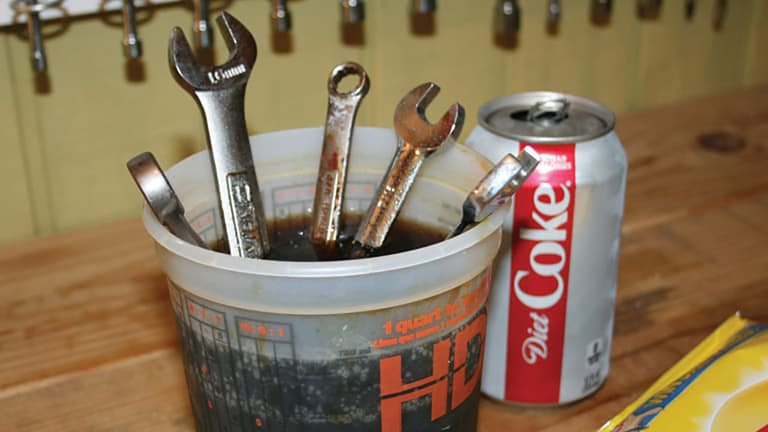 From the Workbench: How To Remove Rust From Tools