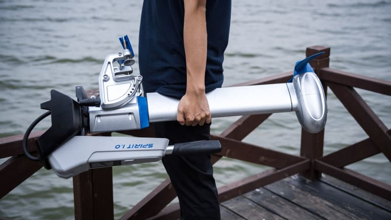 Trending Up: ePropulsion Electric Outboards