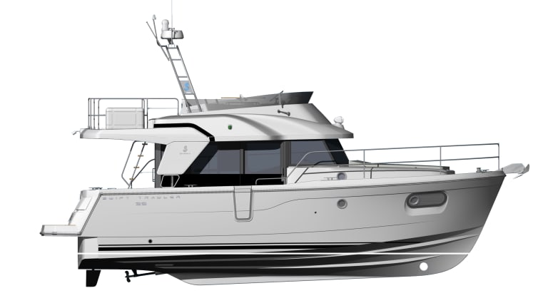 Psssst. Wanna First Look at the New Beneteau 35?