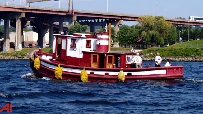 Current Bid for 1923 Tugboat: $2,550 (Video)