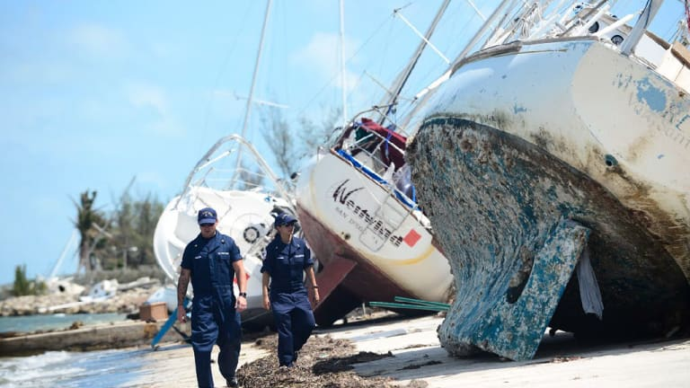 Owners of Vessels Wrecked by Irma Urged To 'Release Ownership'