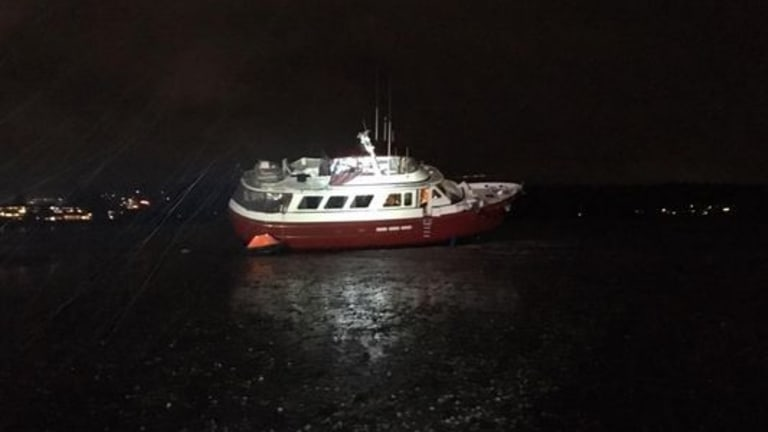 Motoryacht Goes Aground, Skipper Charged
