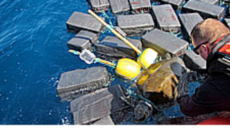 Sea Turtle Rescued From $53 Million Cocaine Cluster