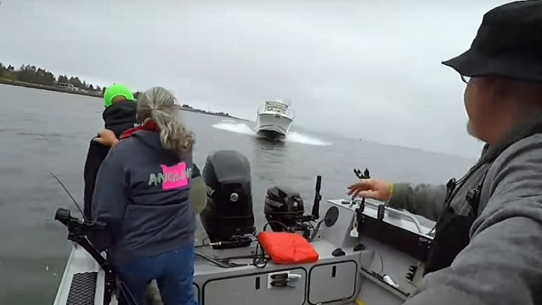 Columbia River Crash Caught on Video