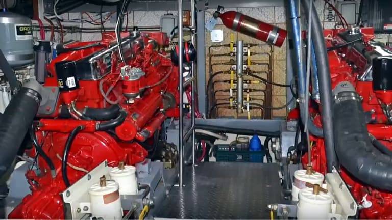 Tour the Engine Room of a Defever 49 (Video)