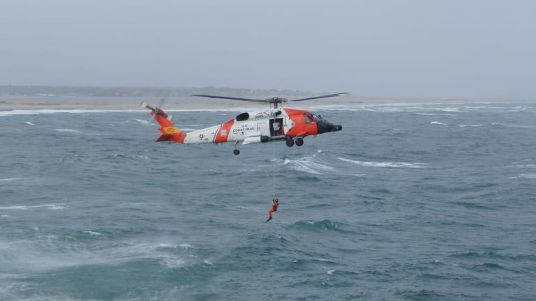 Daring Rescue Off the Coast Of Maine Earns Rescue Swimmer Bravery Award