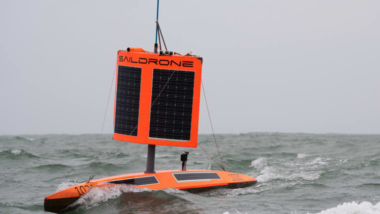 Saildrone Completes First Autonomous Circumnavigation of Antarctica