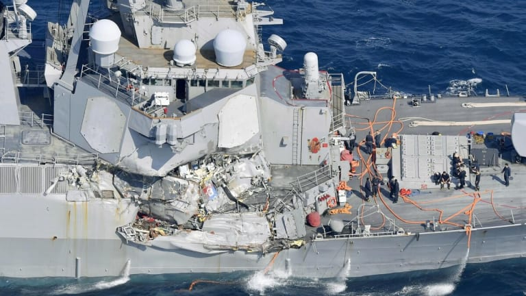 One Navy Vet's Contemporaneous Analysis of the McCain and Fitzgerald (Shown) Collisions