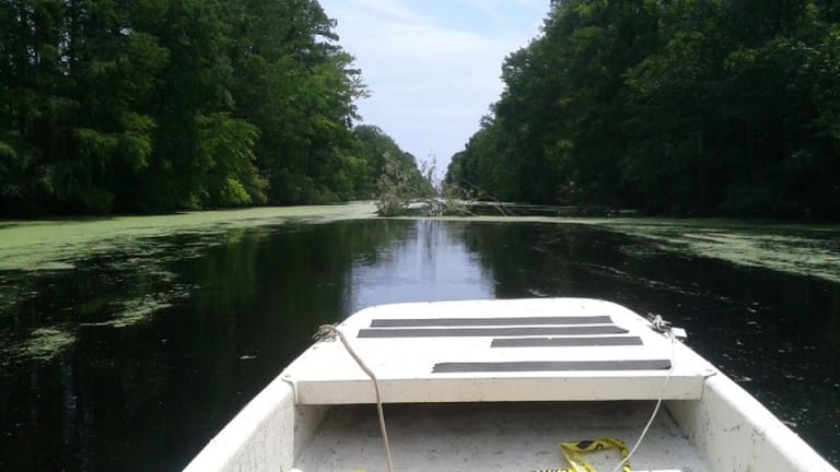 Storm Rips NC Town, Dismal Swamp Canal Closed , Now Open Again
