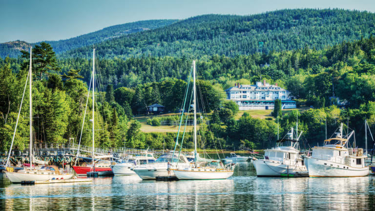 Northeast Harbor Is Quintessential Maine