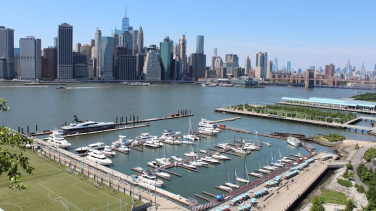 New Marina in Brooklyn Is Within Sight of the Hudson River