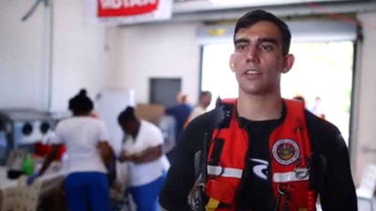 Coast Guard Rescuer Recounts a Day in the Bahamas Recovery Effort (Video)