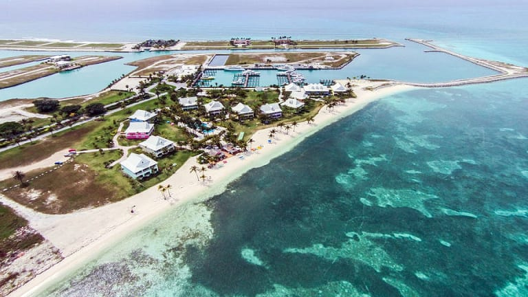 Marina at West End, Grand Bahama, Reopens in Wake of Dorian