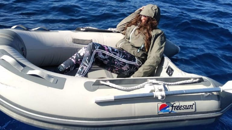 Woman Spends 37 Hours Adrift at Sea in a Dinghy (Video)