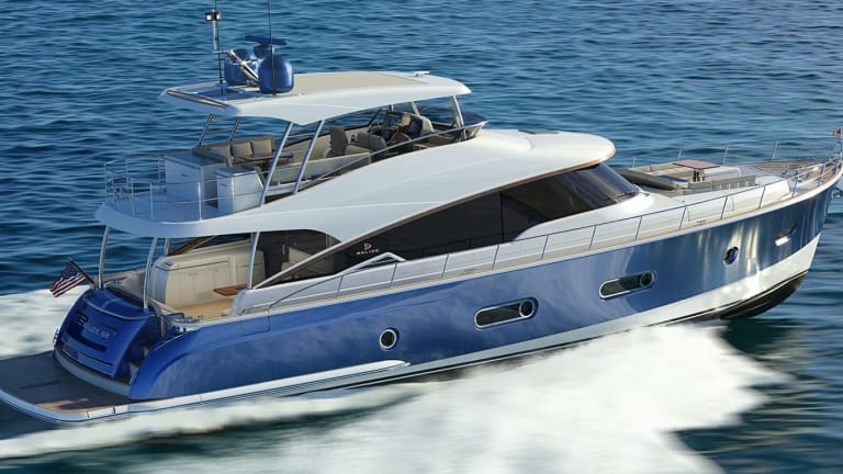Belize Proudly Adds a Flybridge to its 66 (Video)
