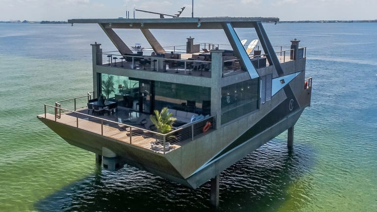 For Sale: Spud Barge With Fridge Finish, Nice Digs, $12 Million (Video)