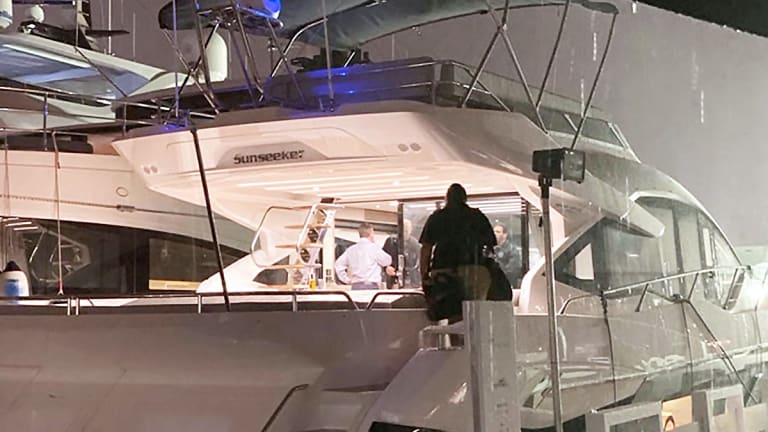 Feds 'Arrest' $4 Million Yacht at Florida Boat Show
