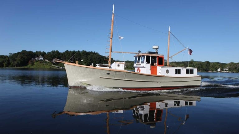 1966 Penbo Trawler Saved From the Chainsaw (Video & Photo Gallery)