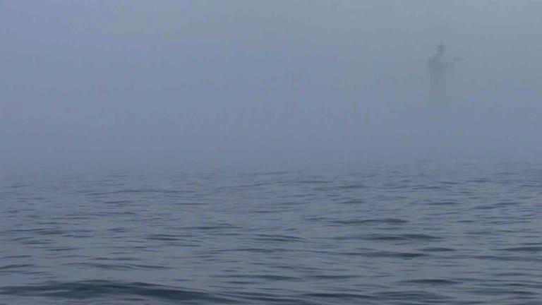 Surprise Fog Raises Veteran Cruiser's Appreciation for Radar 'Savoir Faire'