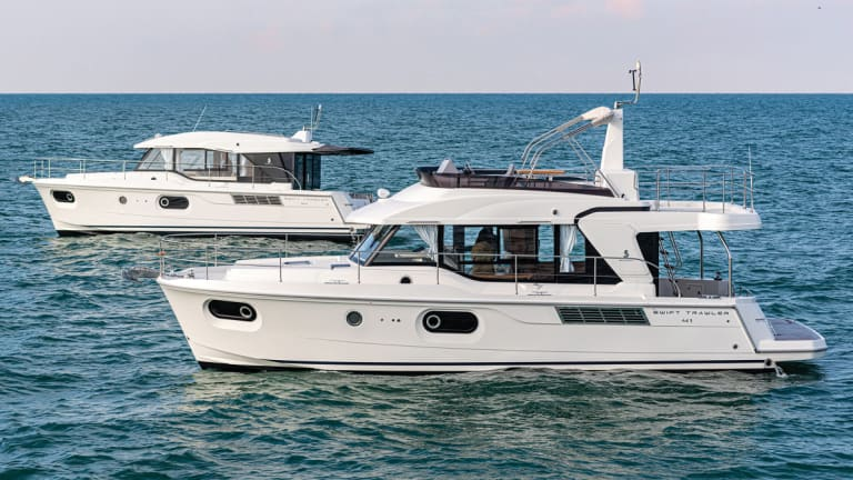 New Beneteau 41: Galley Up But Now Aft (Photo Gallery)