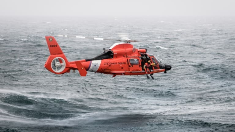 Coast Guard Rescues Man From Disabled Sailing Vessel [NEW VIDEO]