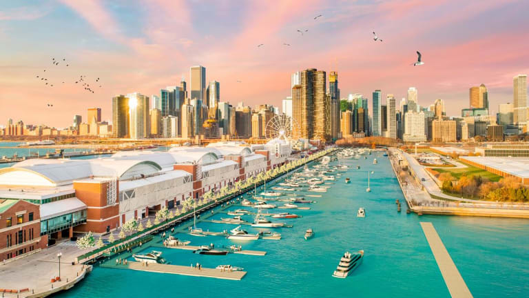 Marina being developed at Chicago's Navy Pier